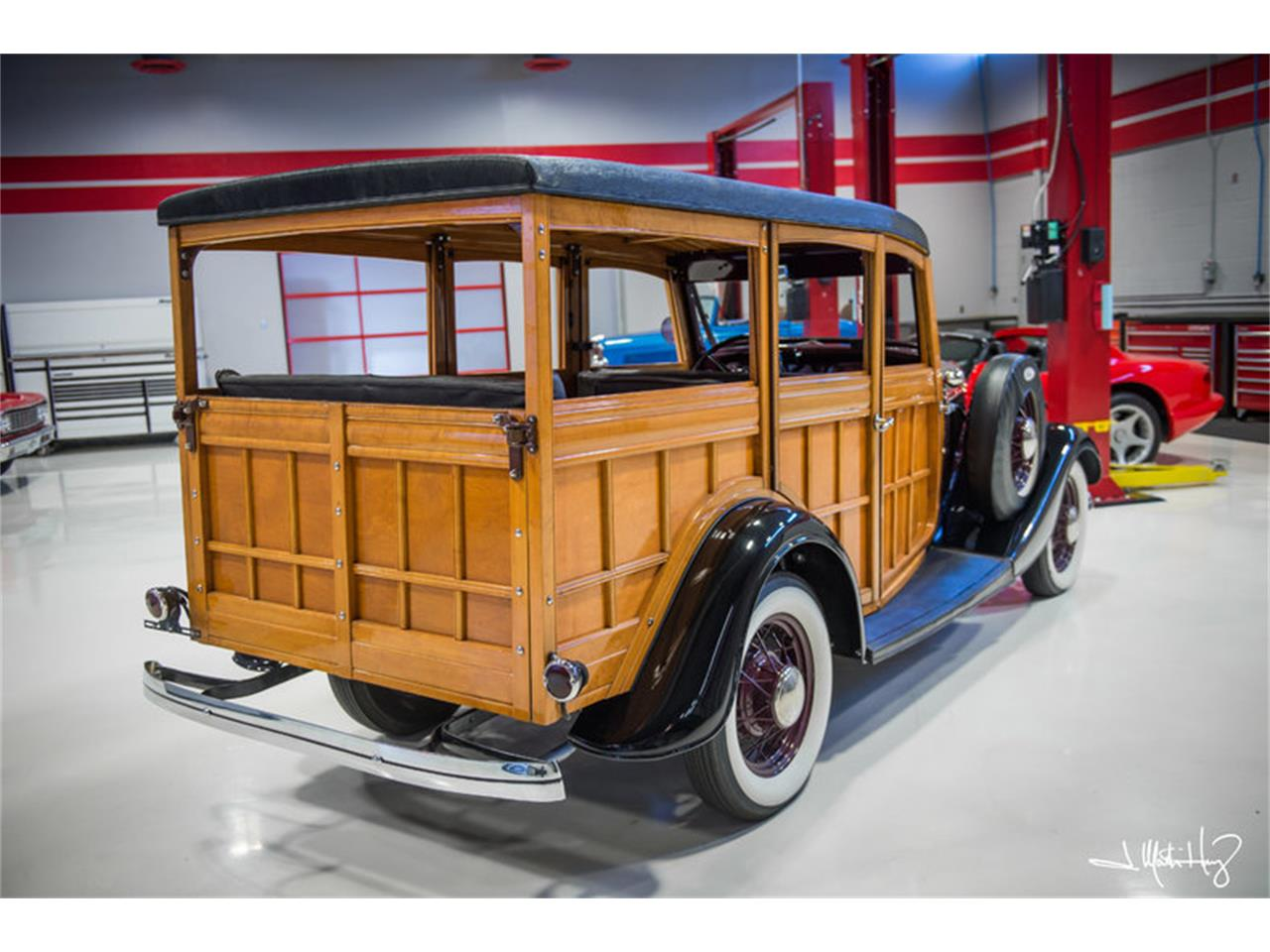 Large Picture of Classic 1934 Woody Wagon - $47,500.00 Offered by Crown Concepts LLC - JUZV