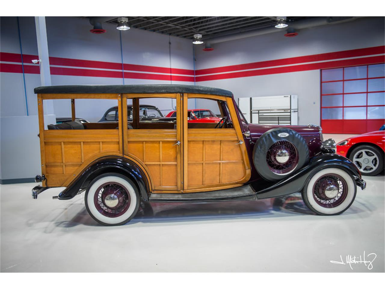 Large Picture of Classic '34 Woody Wagon - $47,500.00 Offered by Crown Concepts LLC - JUZV