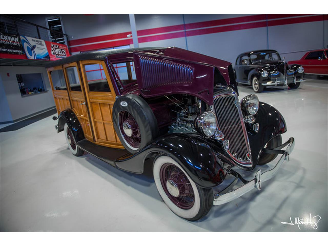 Large Picture of Classic 1934 Ford Woody Wagon Offered by Crown Concepts LLC - JUZV