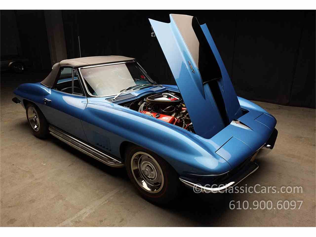 Large Picture of '67 Corvette located in West Chester Pennsylvania Offered by CC Classic Cars - JV9S