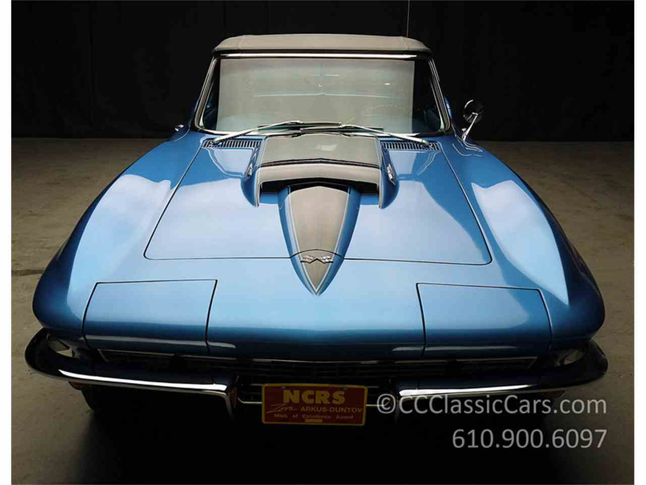 Large Picture of Classic 1967 Corvette Auction Vehicle Offered by CC Classic Cars - JV9S
