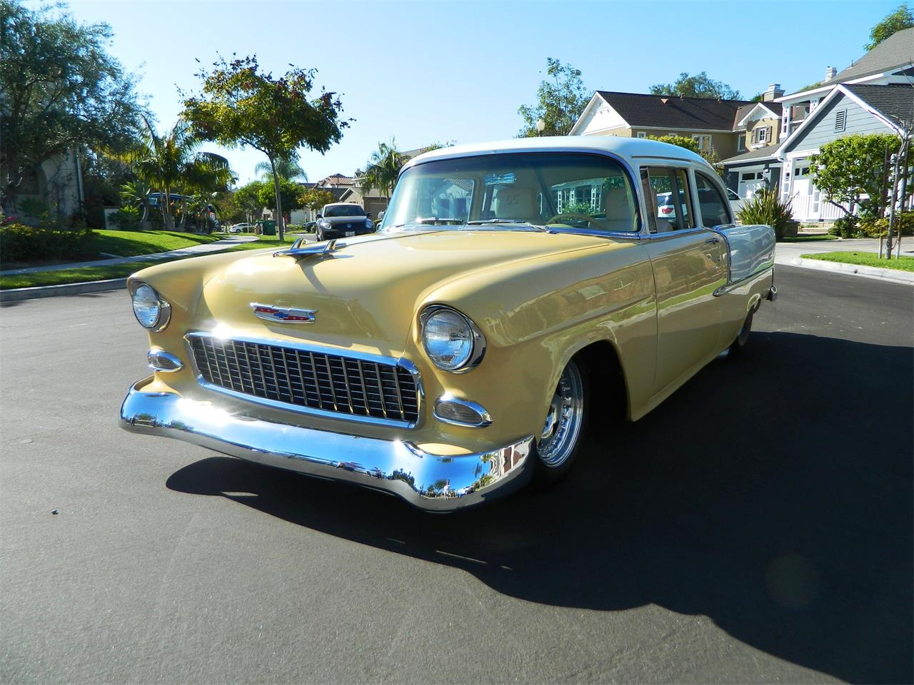 Large Picture of Classic '55 Chevrolet 210 located in Orange California - $85,000.00 Offered by Classic Car Marketing, Inc. - JVMM
