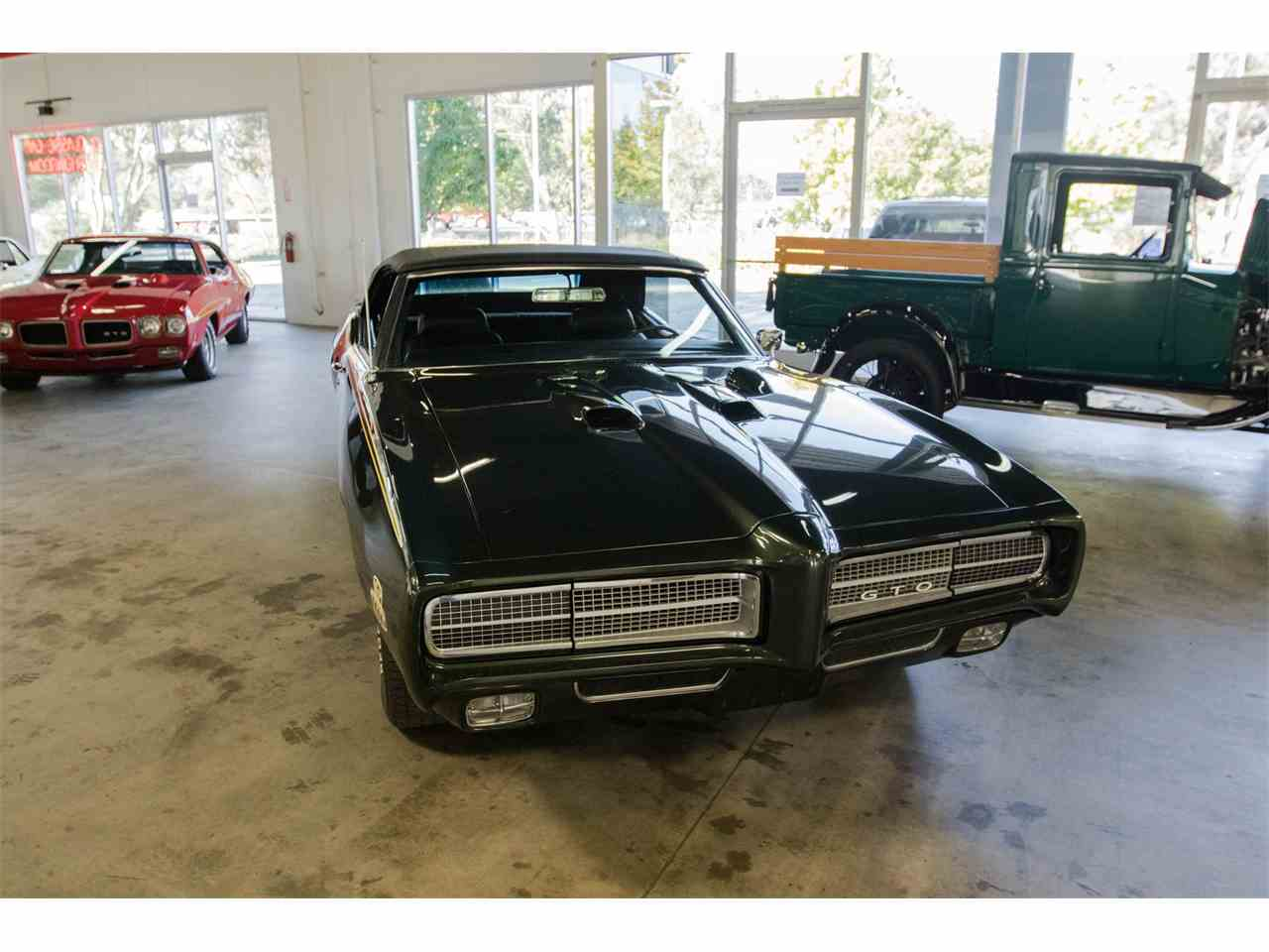 Large Picture of Classic 1969 Pontiac GTO located in California Offered by Specialty Sales Classics - JVOR
