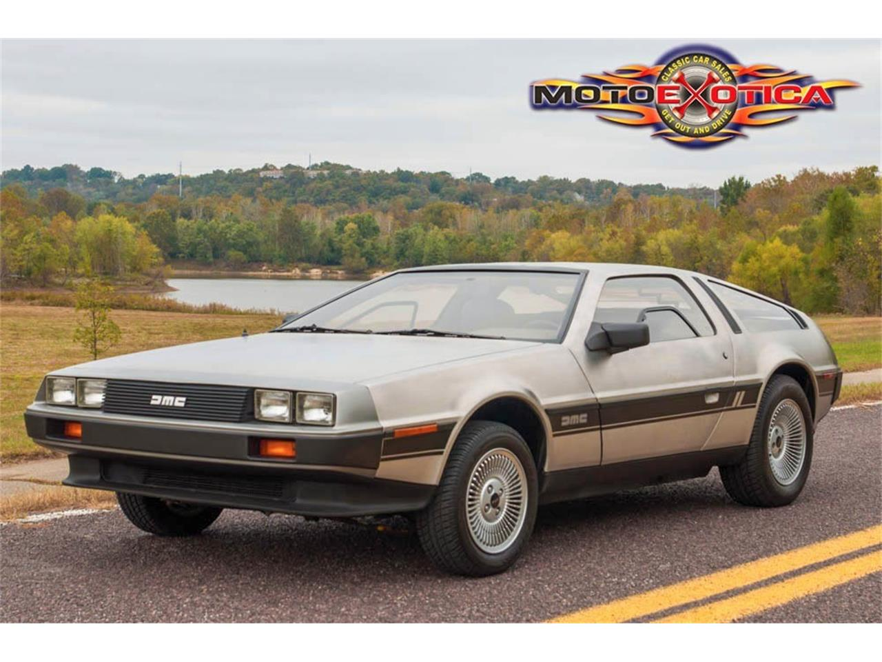 Large Picture of 1981 DeLorean DMC-12 located in St. Louis Missouri Offered by MotoeXotica Classic Cars - JPXR