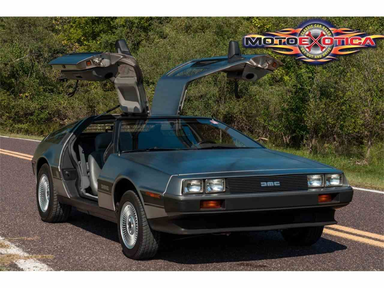 Large Picture of '81 DeLorean DMC-12 Offered by MotoeXotica Classic Cars - JPXR