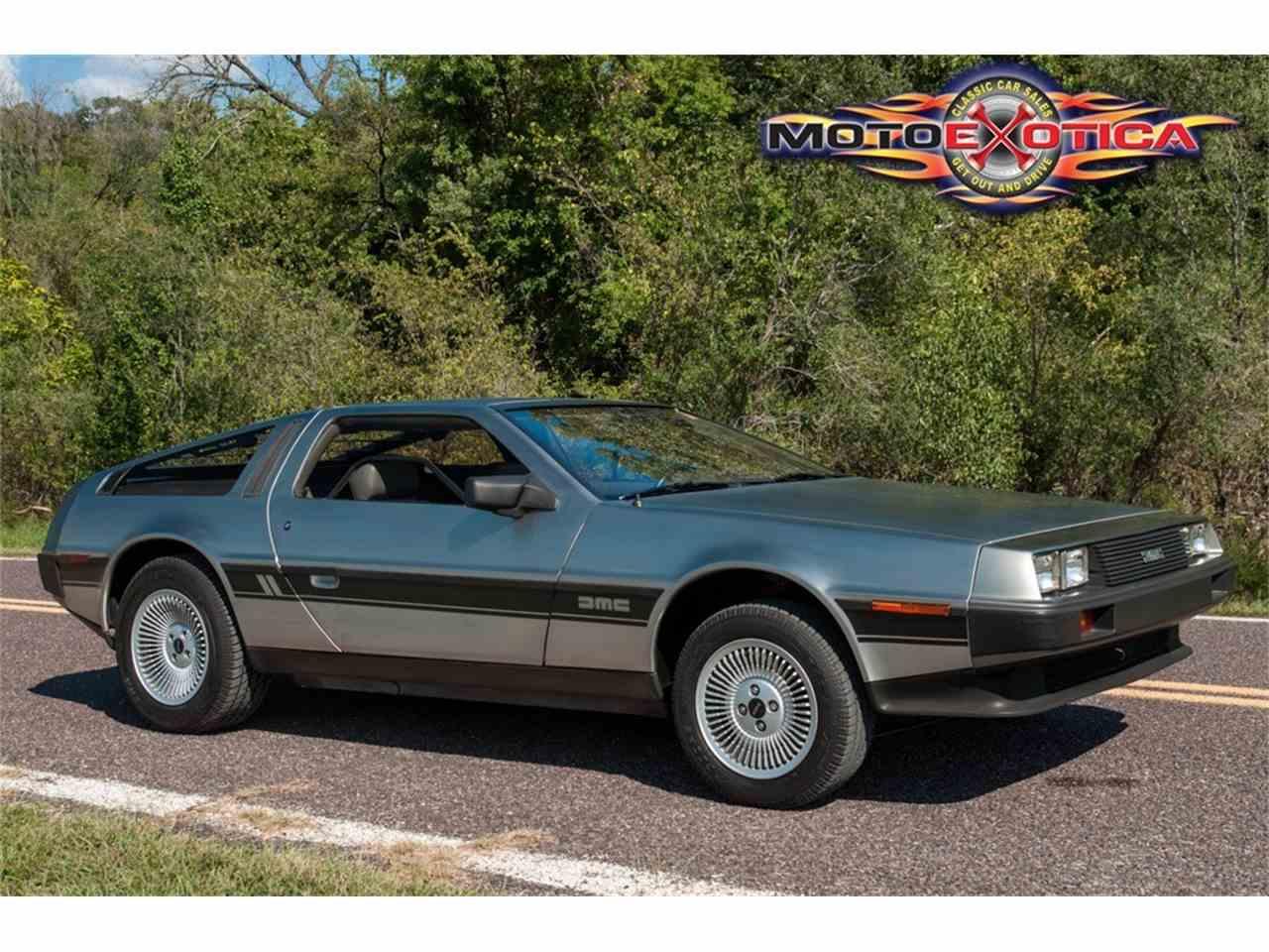 Large Picture of '81 DeLorean DMC-12 - $73,500.00 - JPXR