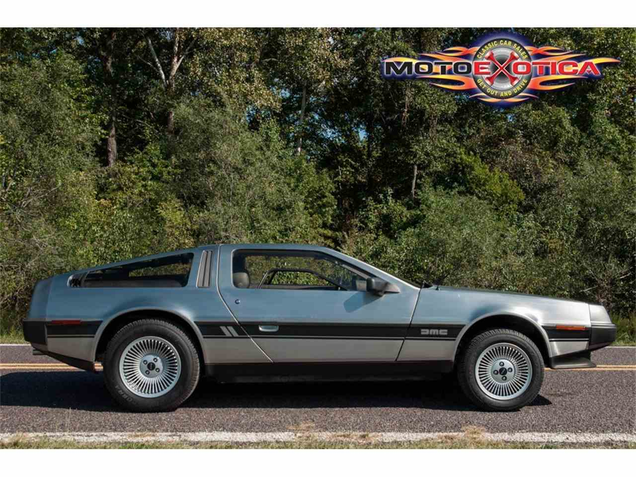 Large Picture of '81 DeLorean DMC-12 located in Missouri - $73,500.00 Offered by MotoeXotica Classic Cars - JPXR