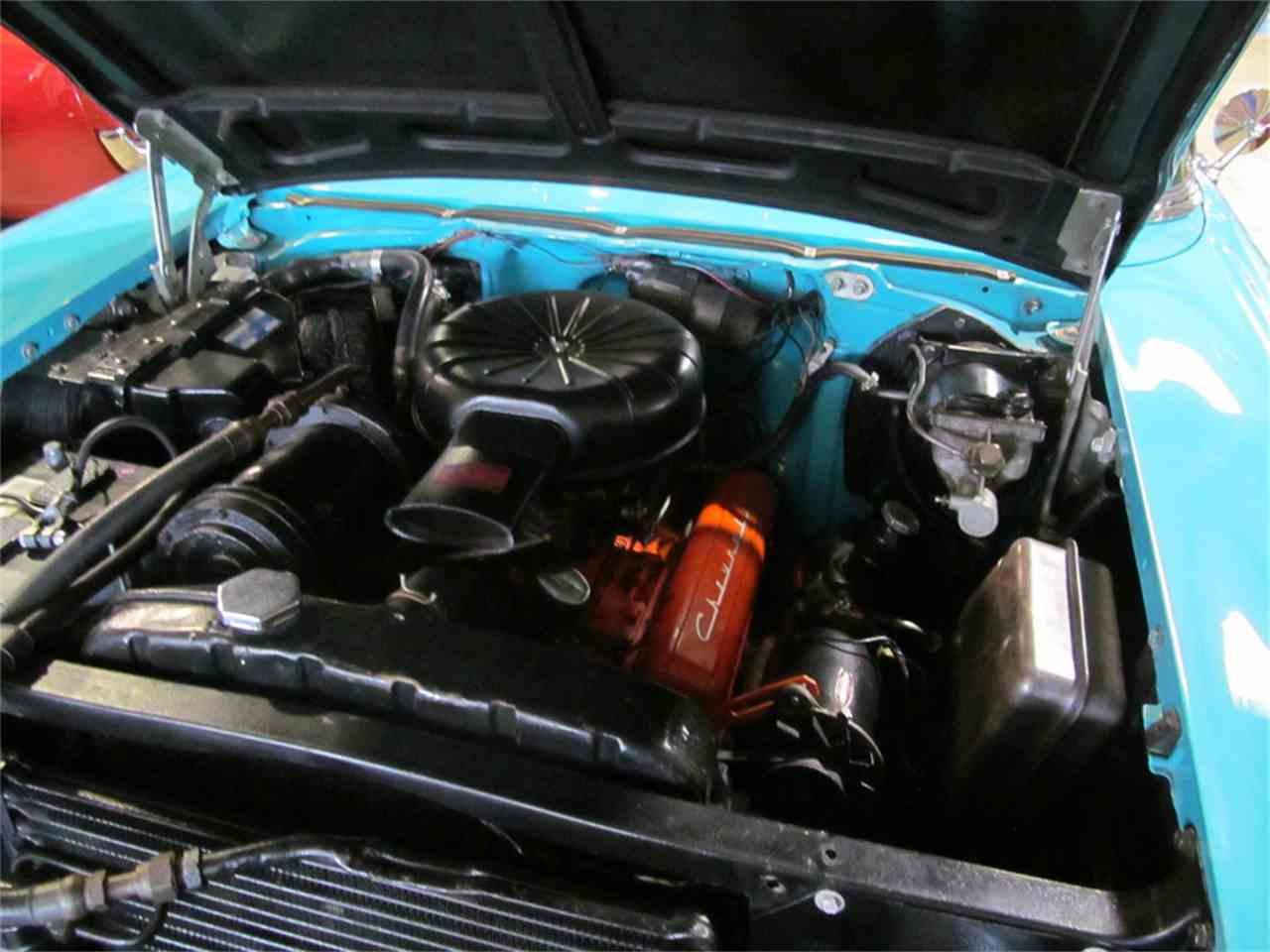 Large Picture of '57 Chevrolet Convertible Auction Vehicle - JW6L