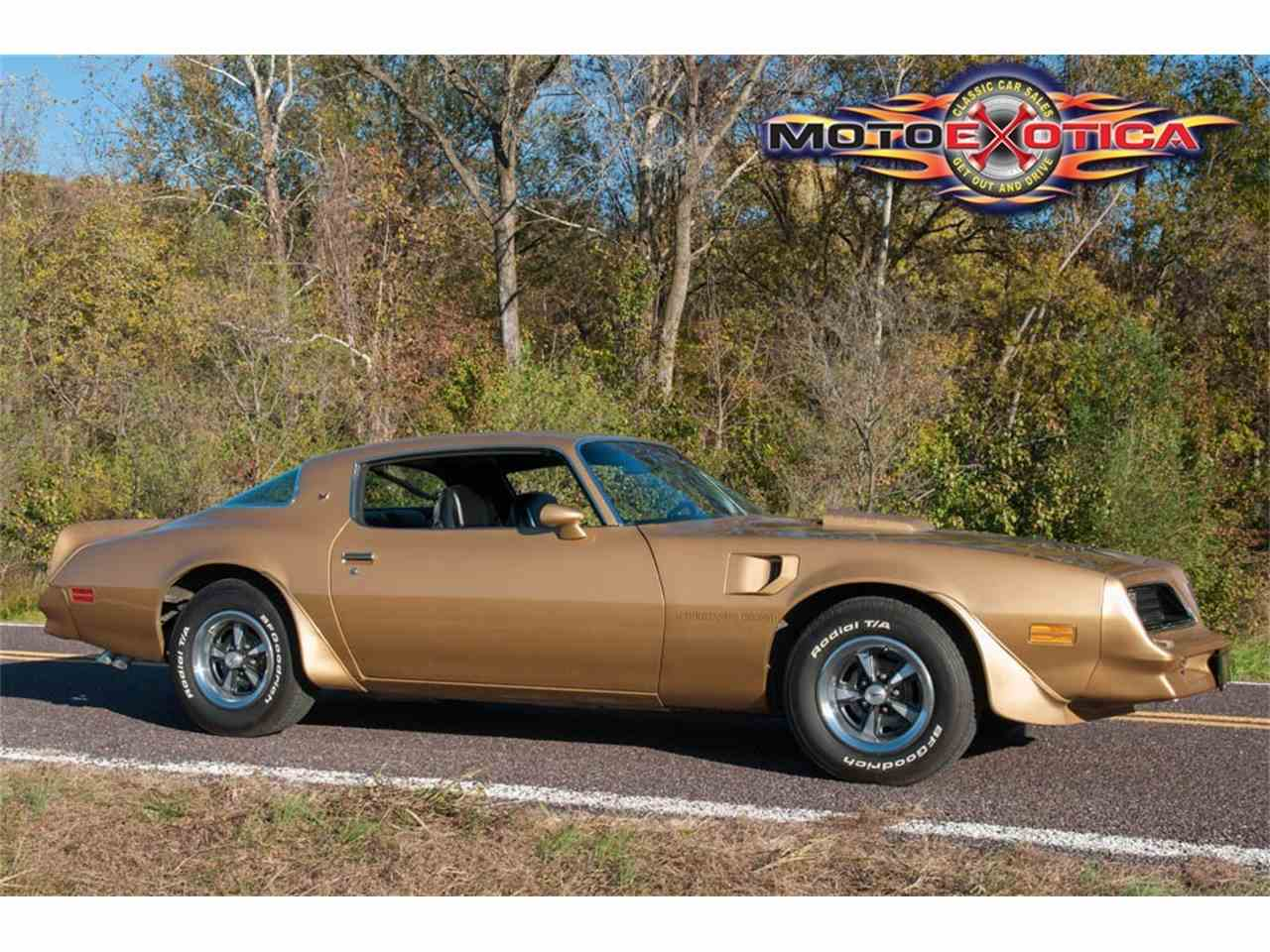 Large Picture of 1978 Firebird Trans Am located in Missouri Auction Vehicle Offered by MotoeXotica Classic Cars - JWBK