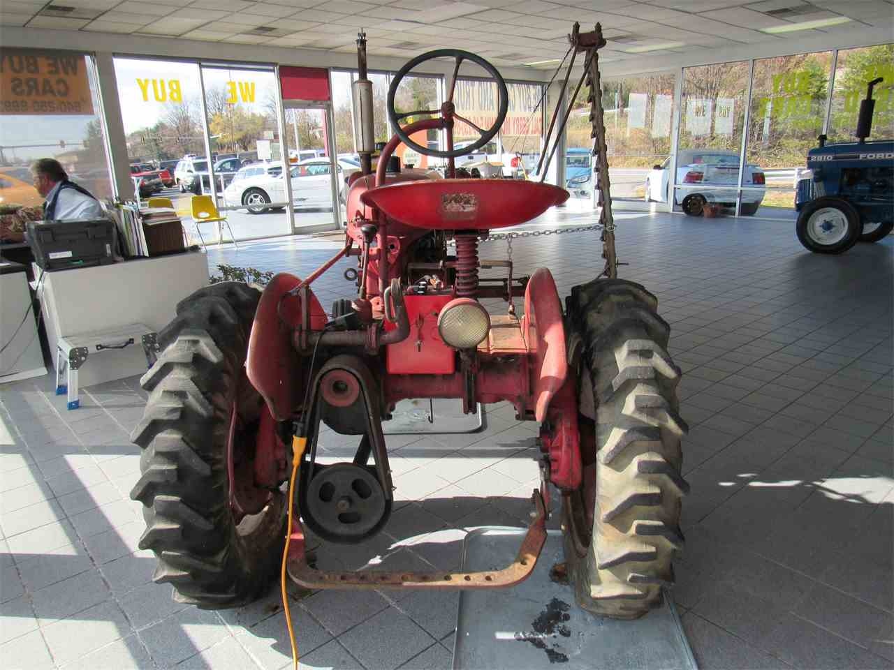 Farmall Cub With Dual: Garden Tractor Forum – Billy Knight