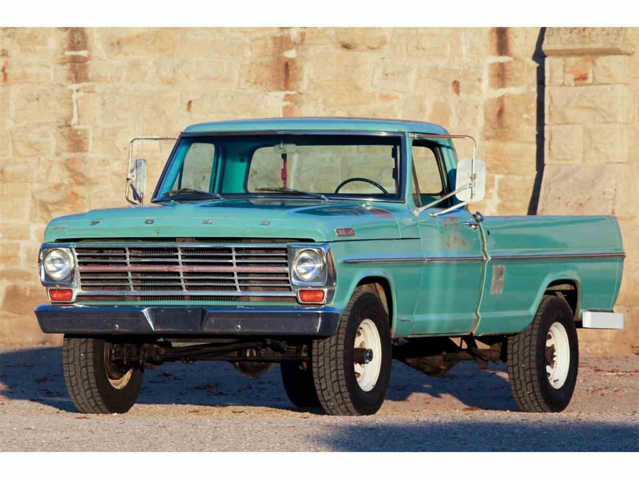 Erfreut 1967 Ford F100 Verdrahtungsschema Bilder - Elektrische ...