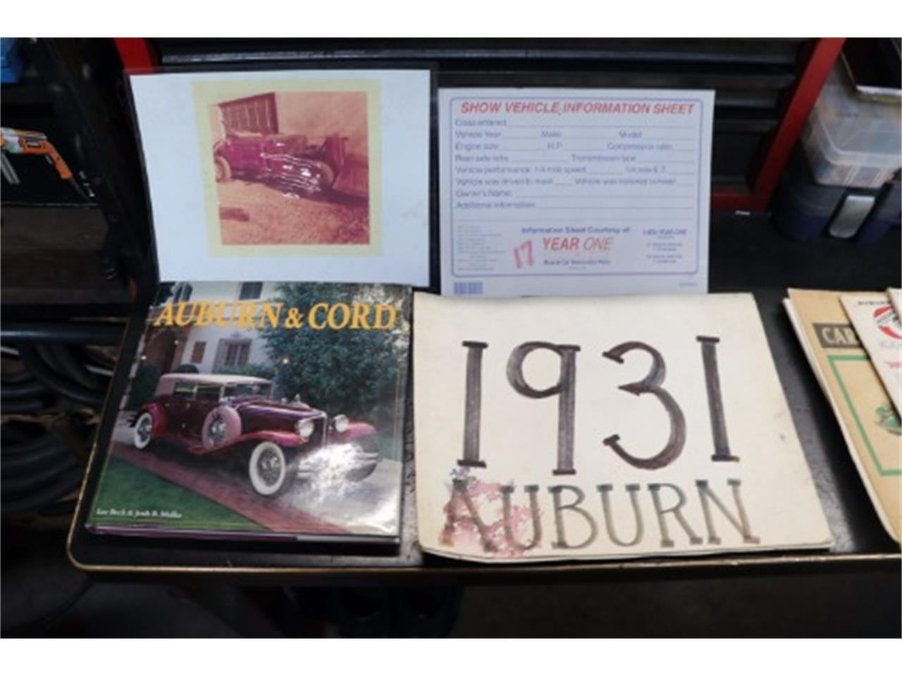 Large Picture of Classic '31 Auburn 8-98A located in Astoria New York Offered by Gullwing Motor Cars - JWLH