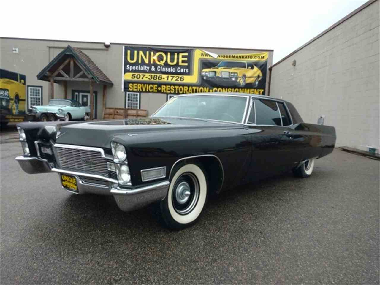 1968 Cadillac Coupe DeVille for Sale | ClicCars.com | CC-929304