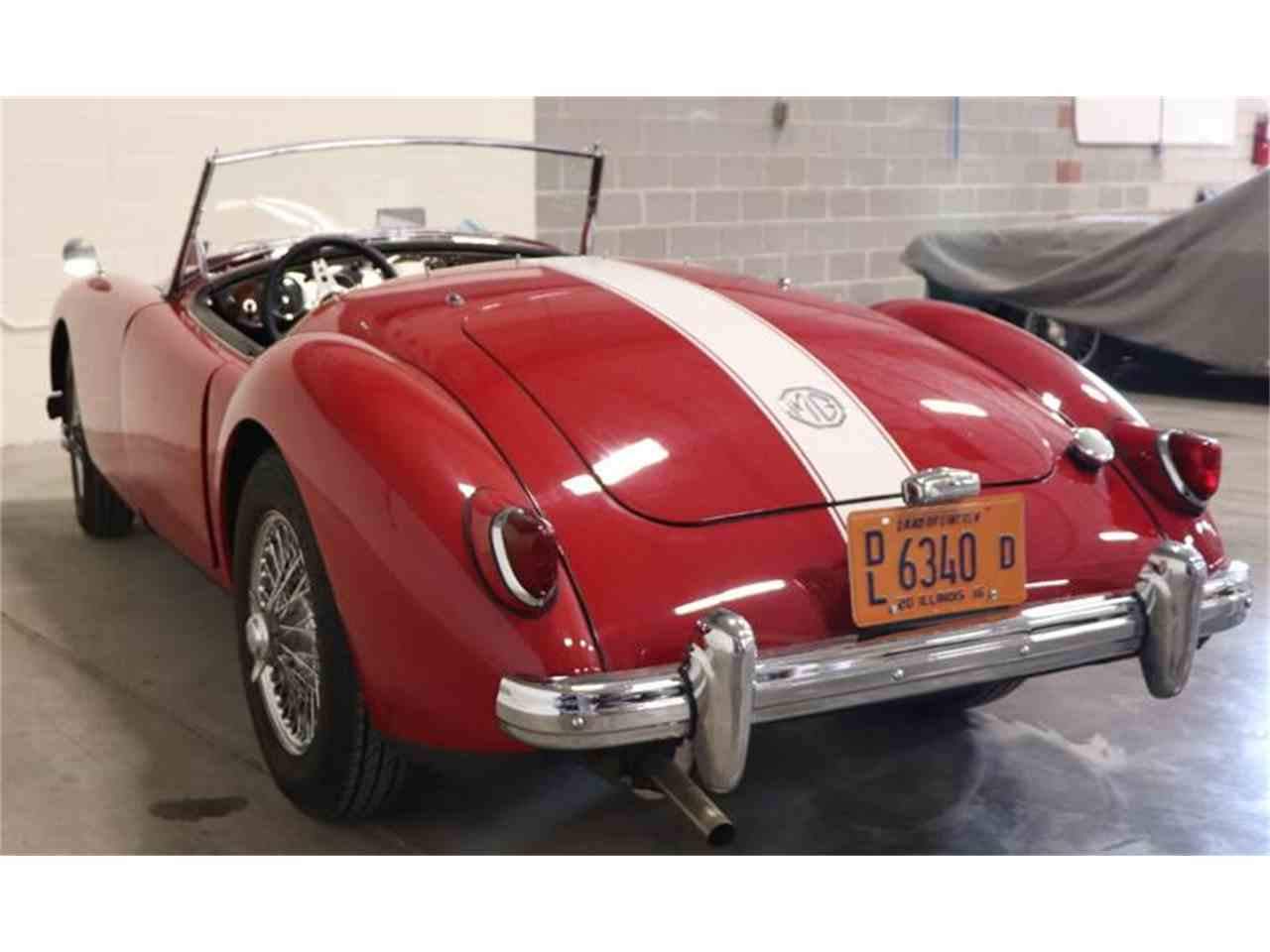 Large Picture of '57 MGA - JX39