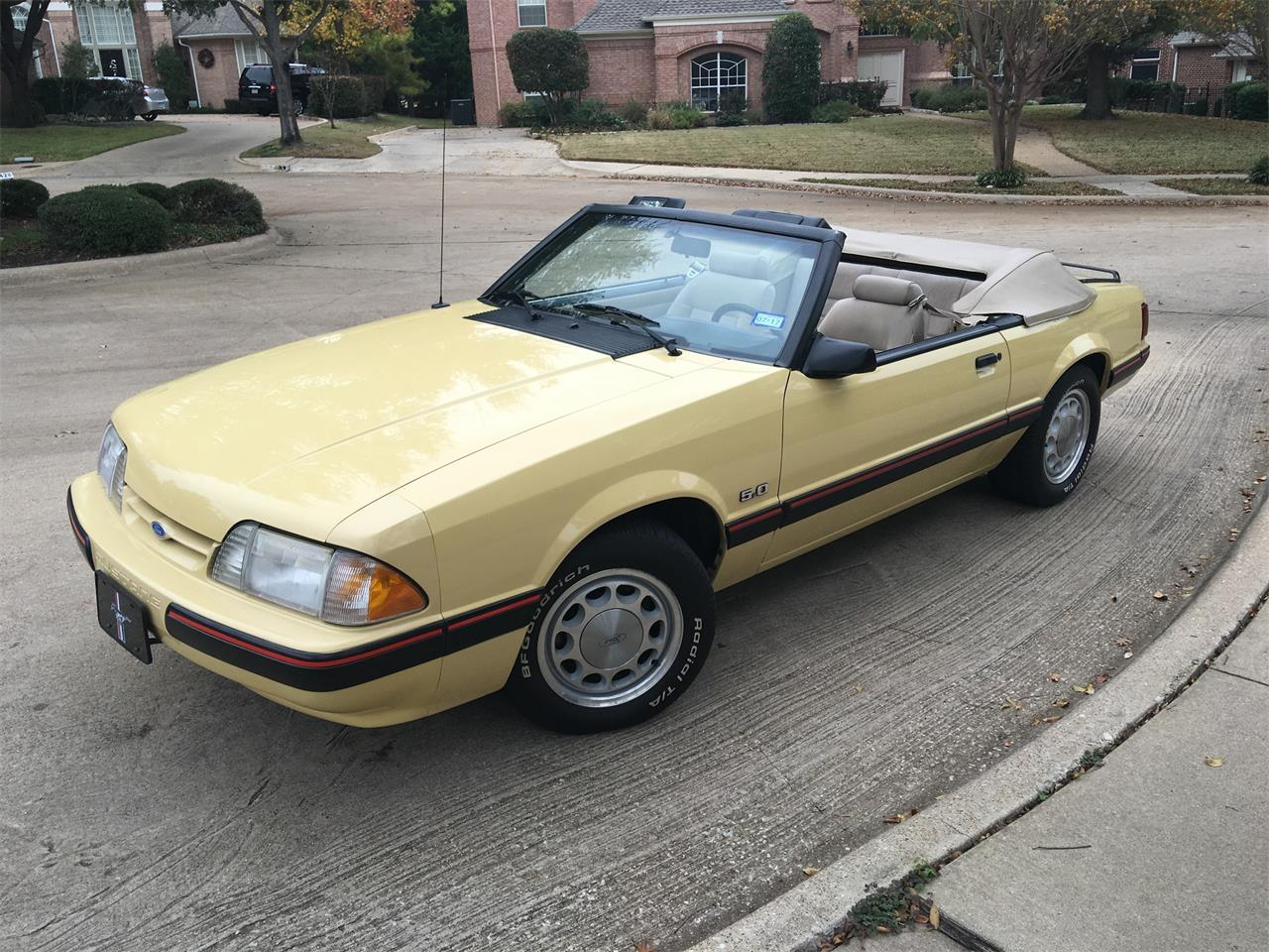 Large Picture of '87 Mustang located in Rowlett Texas - $8,990.00 - JYND