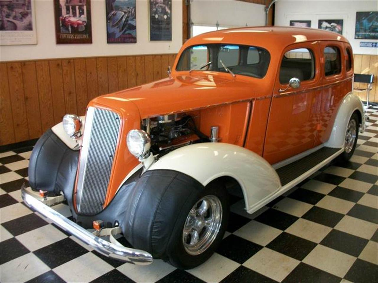 Large Picture of Classic '35 Chevrolet 4-Dr Sedan located in Farmington Michigan - $21,995.00 Offered by Yono Brokerage Services, Inc. - JYOM