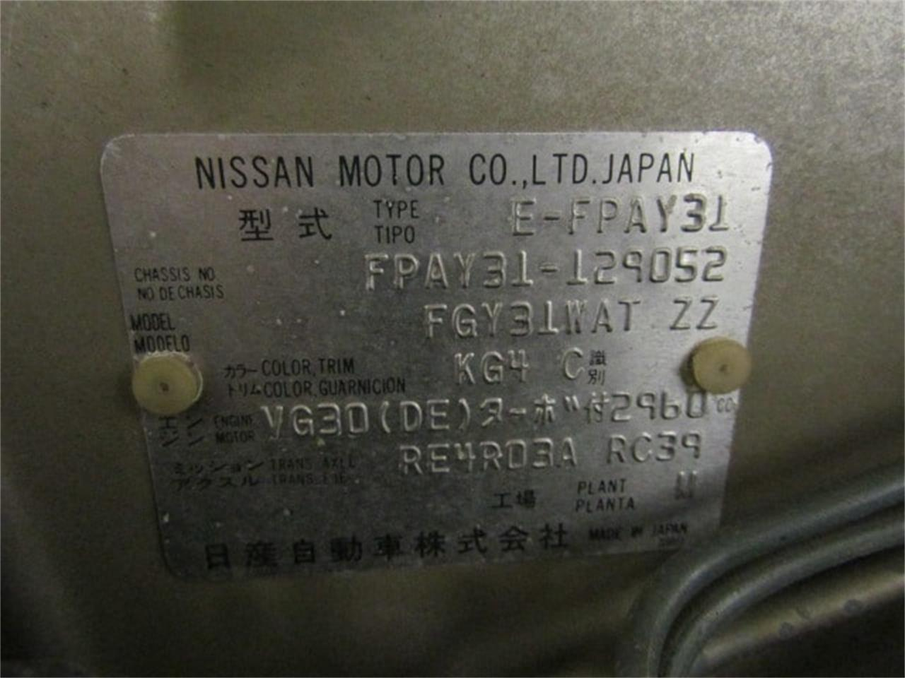 Large Picture of 1990 Nissan Cima located in Virginia - $6,900.00 Offered by Duncan Imports & Classic Cars - JZ2V