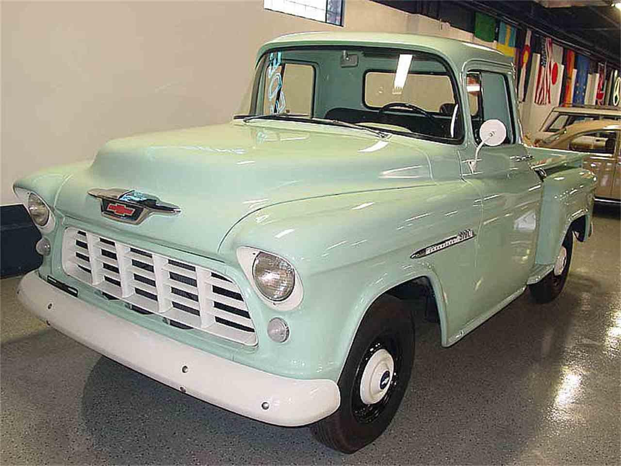 1955 chevrolet pickup for sale cc 932301. Black Bedroom Furniture Sets. Home Design Ideas