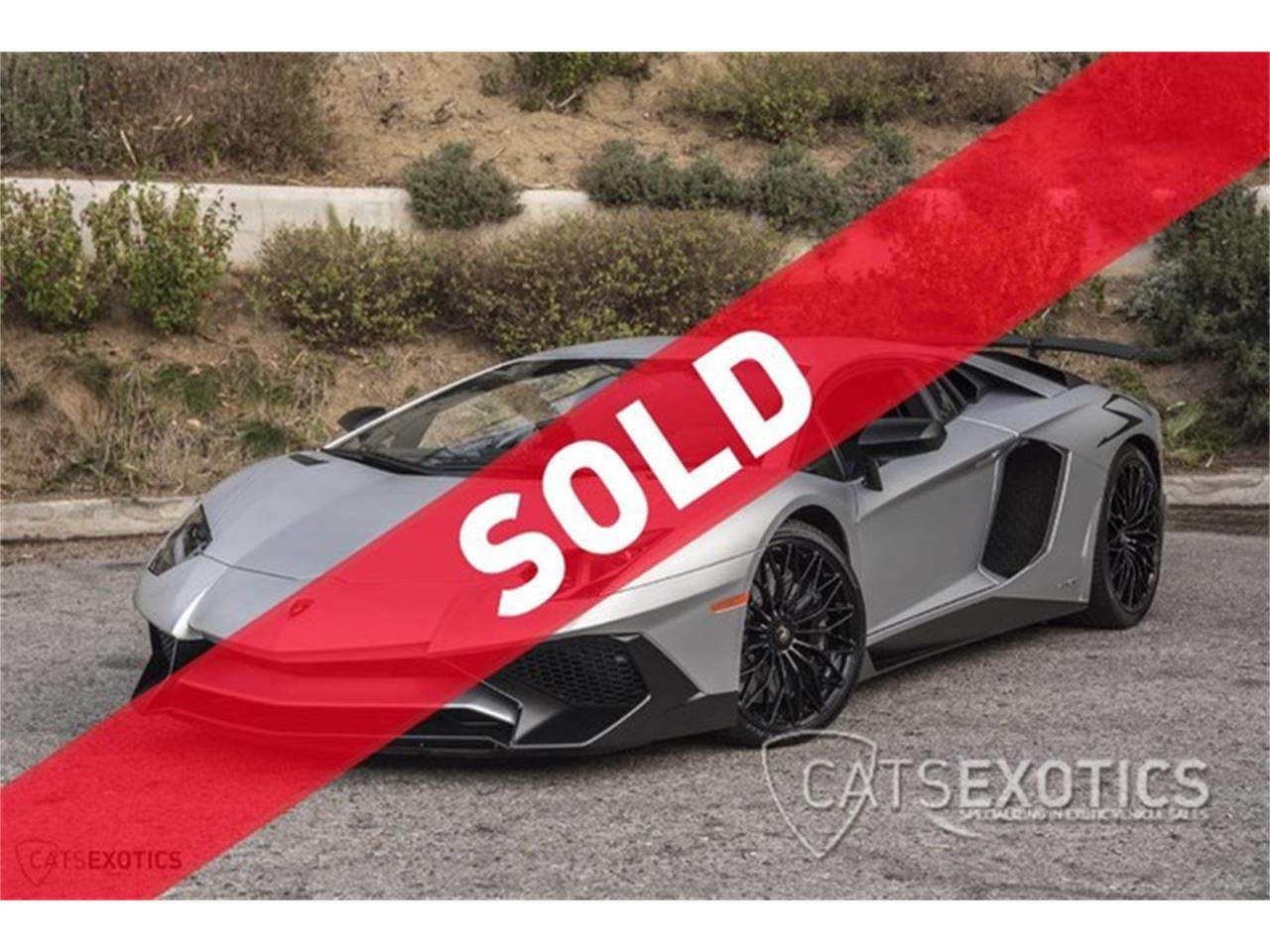2016 Lamborghini Aventador For Sale Classiccars Com Cc 932398