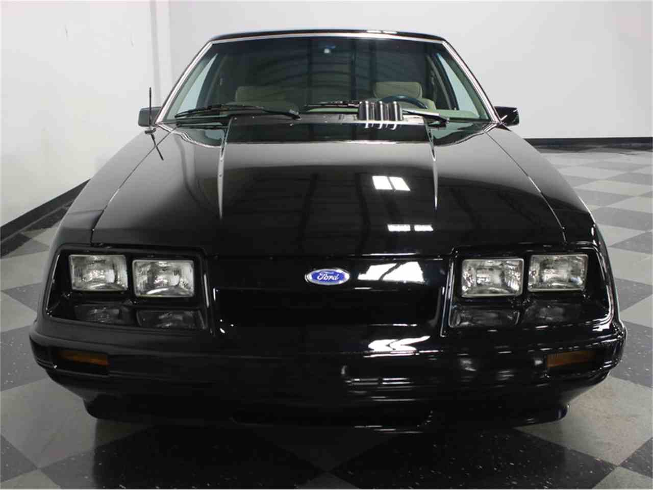 Large Picture of 1986 Ford Mustang SSP Interceptor Offered by Streetside Classics - Dallas / Fort Worth - JZNT