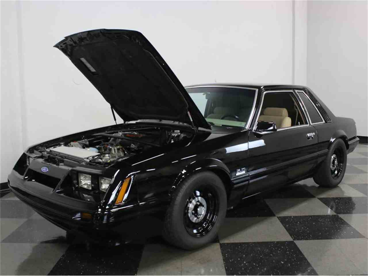 Large Picture of '86 Ford Mustang SSP Interceptor - JZNT