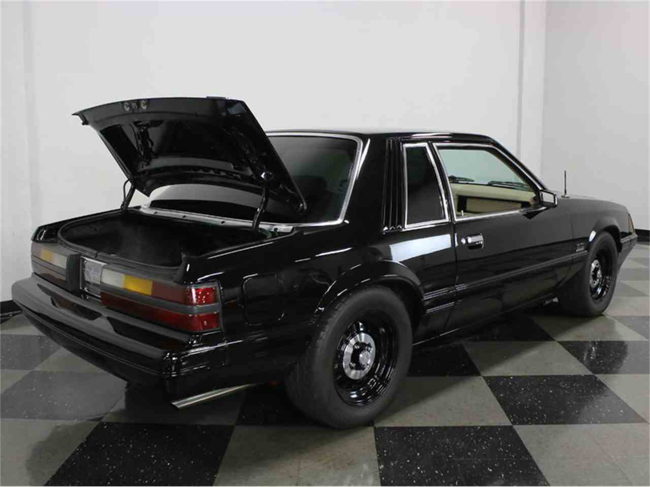 Large Picture of '86 Ford Mustang SSP Interceptor located in Ft Worth Texas - JZNT
