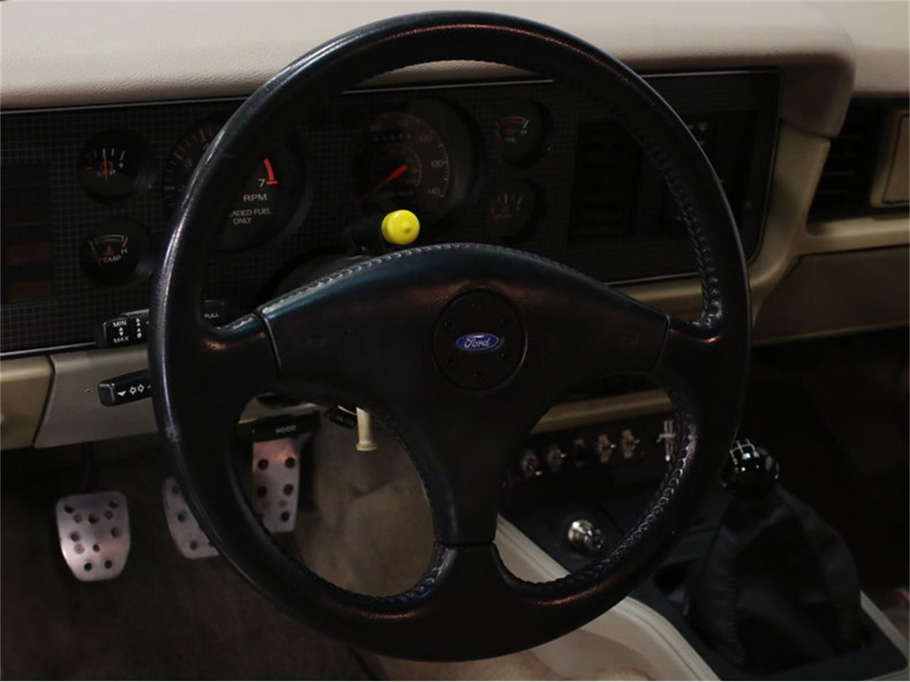 Large Picture of '86 Mustang SSP Interceptor - JZNT