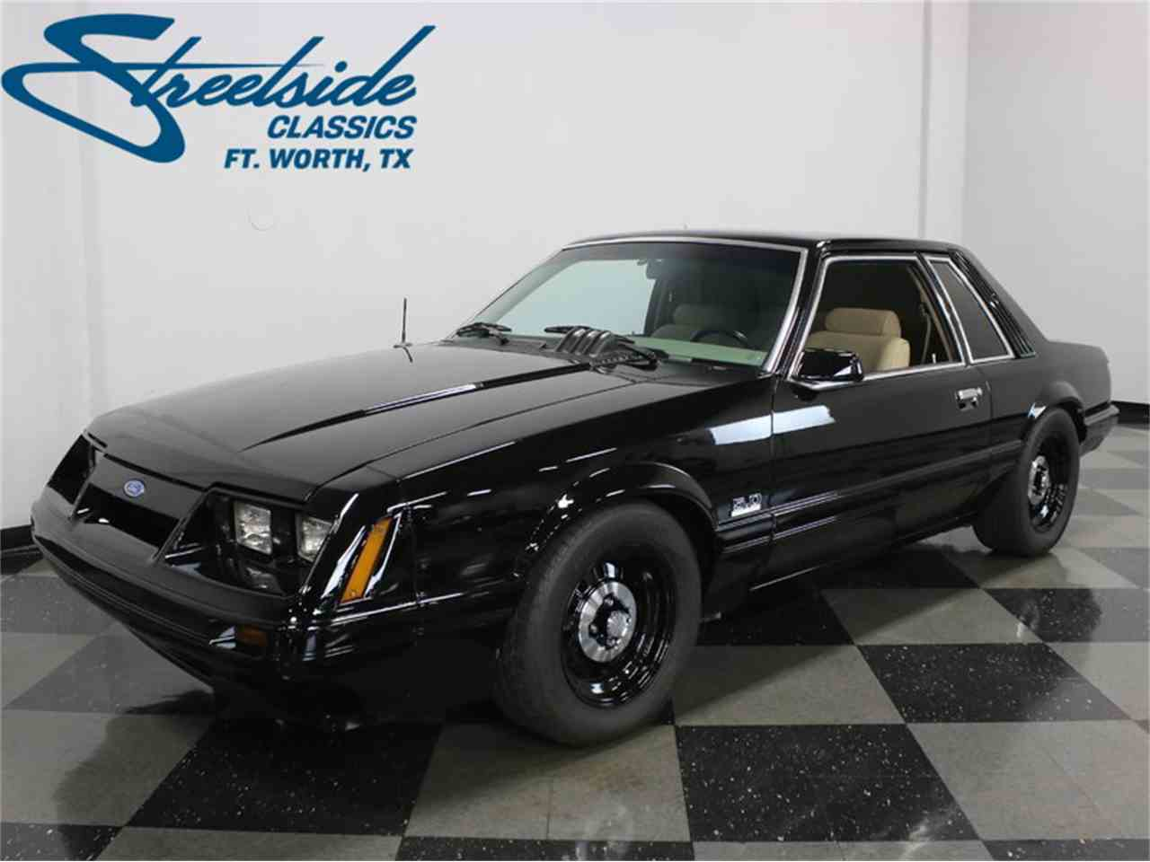 Large Picture of 1986 Mustang SSP Interceptor located in Ft Worth Texas - $24,995.00 Offered by Streetside Classics - Dallas / Fort Worth - JZNT