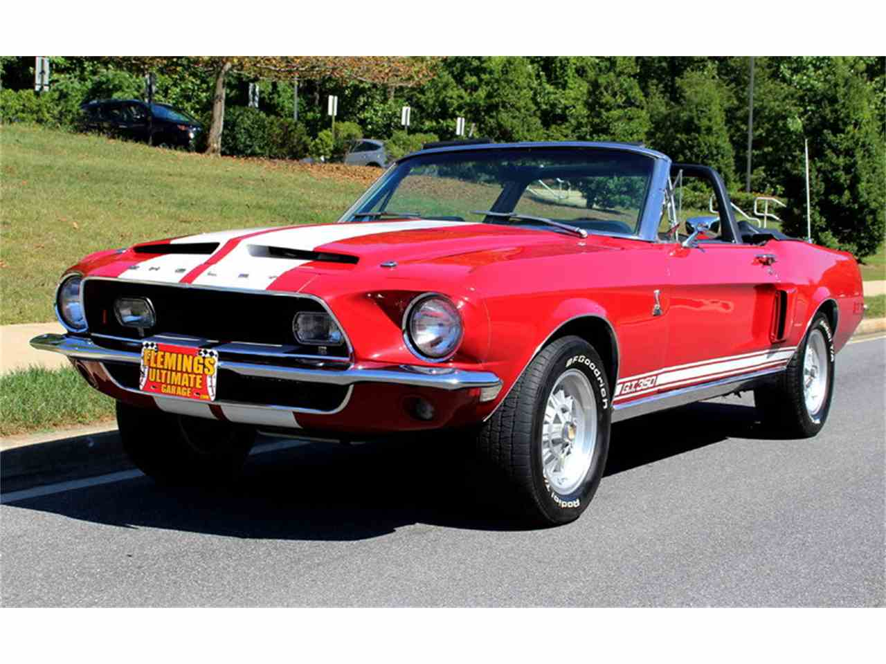 1968 ford mustang shelby gt350 supercharged for sale cc 932791. Black Bedroom Furniture Sets. Home Design Ideas