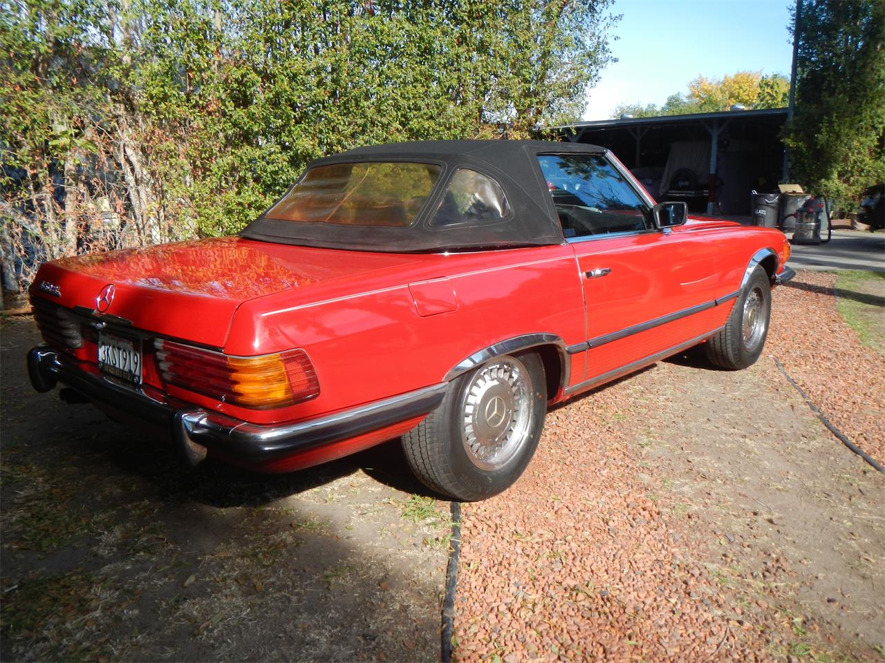 Large Picture of Classic 1972 Mercedes-Benz 350SL located in Woodland Hills California - JXVY