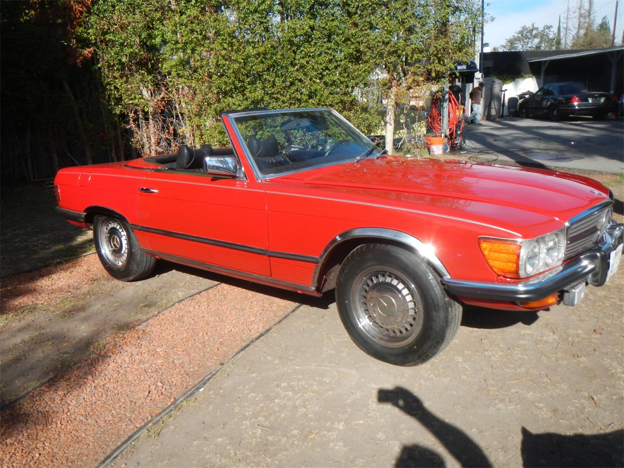 Large Picture of '72 Mercedes-Benz 350SL Offered by California Cadillac And Collectibles - JXVY