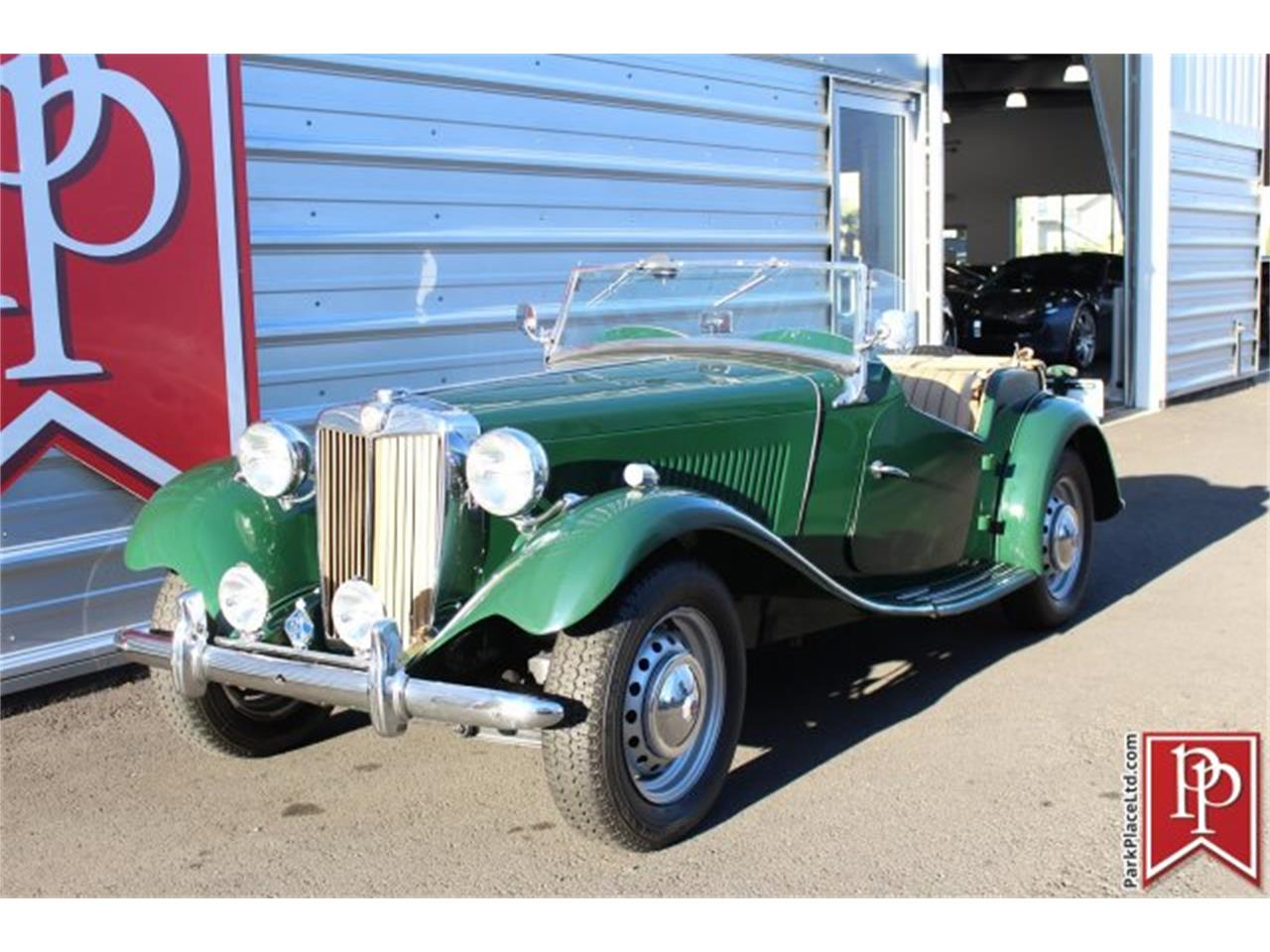 Large Picture of Classic '51 MG TD located in Washington Auction Vehicle Offered by Park Place Ltd - JXWU