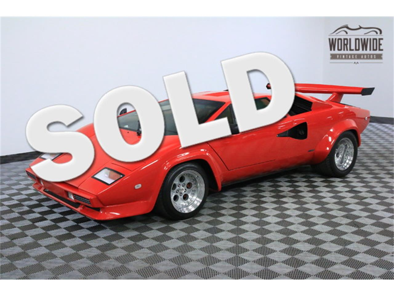 1984 Lamborghini Countach For Sale Classiccars Com Cc 934209