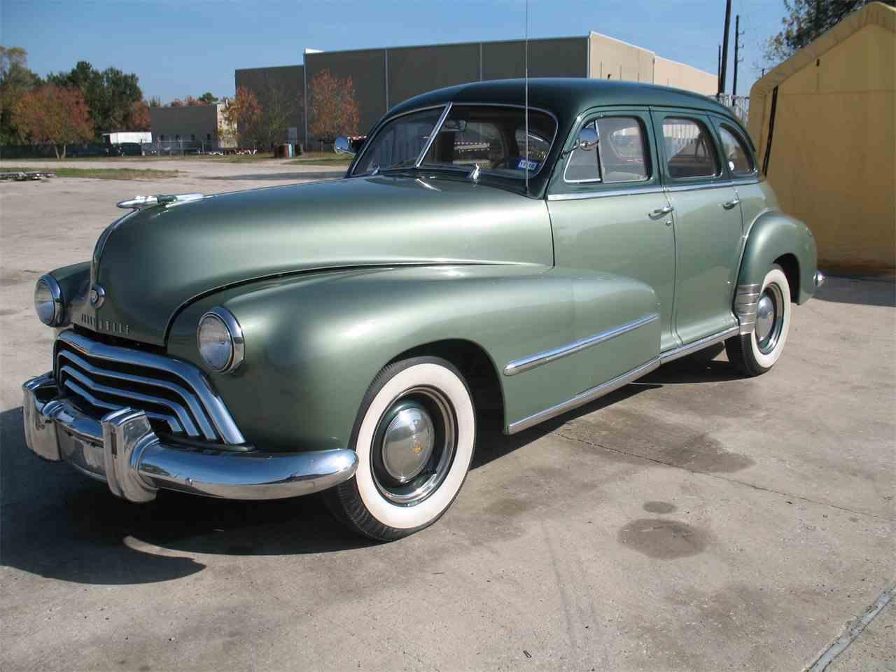 Classic Cars For Sale Houston Area: 1948 Oldsmobile Sedan For Sale