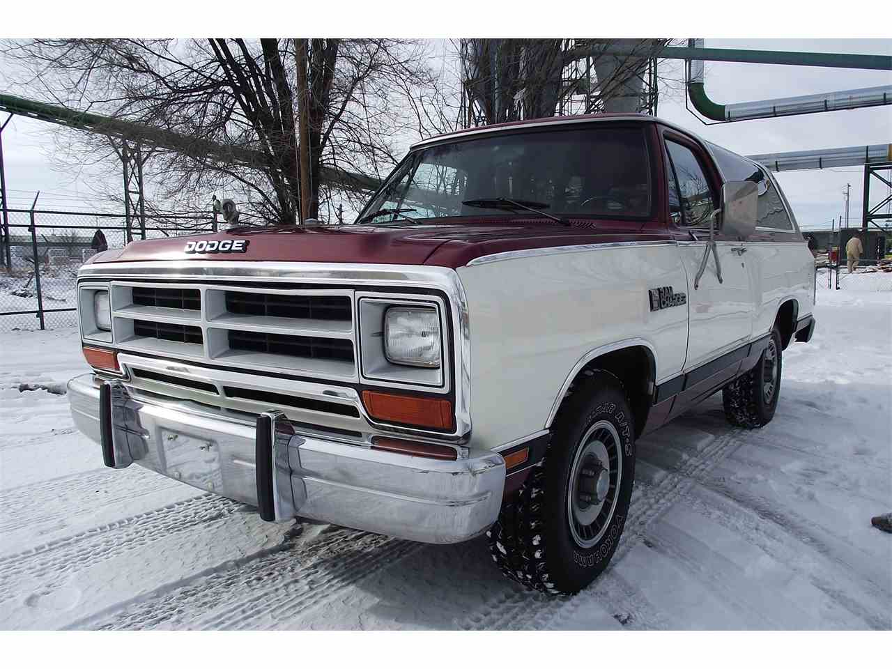1987 Dodge Ramcharger for Sale | ClicCars.com | CC-934563