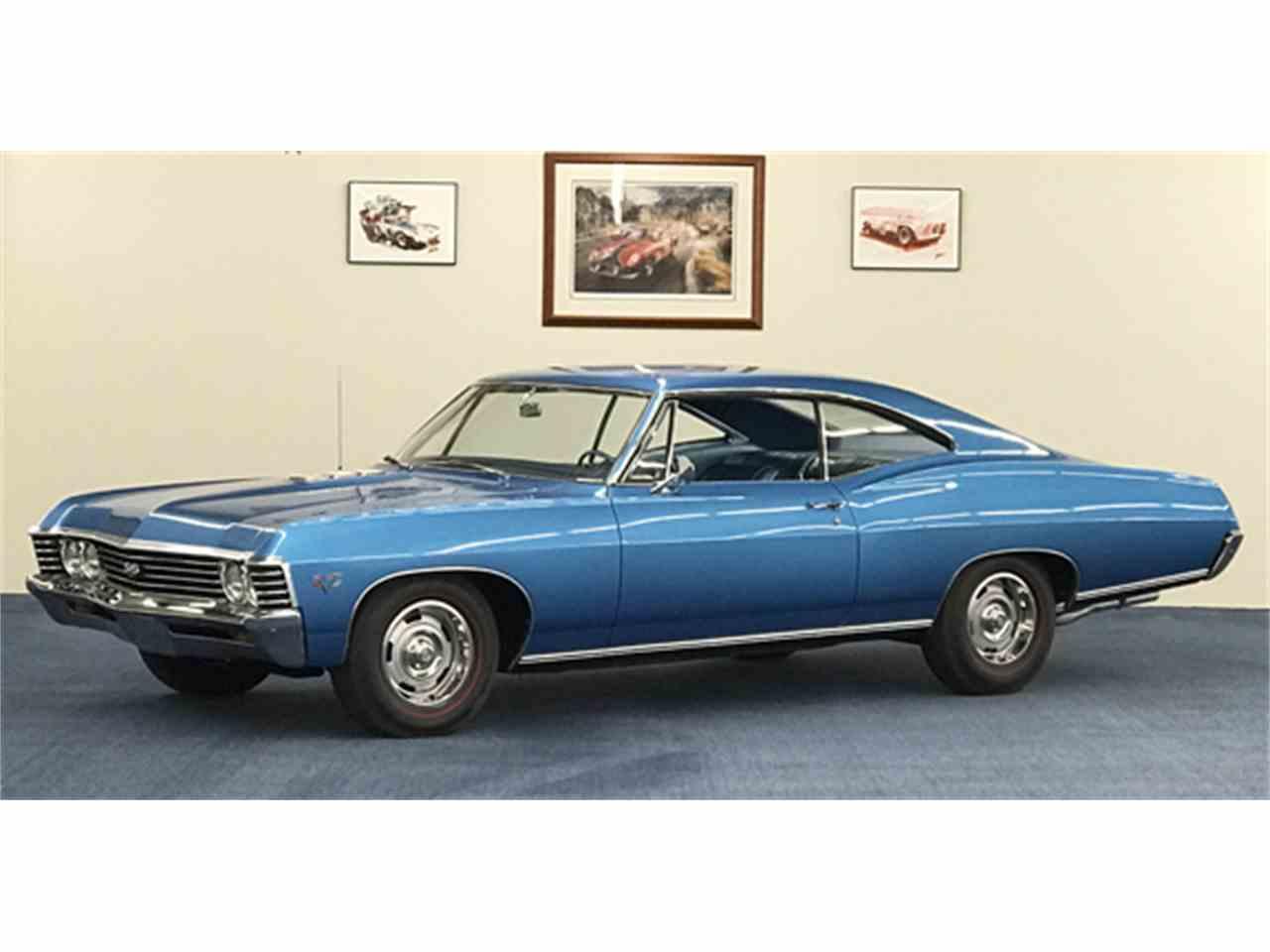 1967 chevrolet impala for sale cc 934570. Black Bedroom Furniture Sets. Home Design Ideas