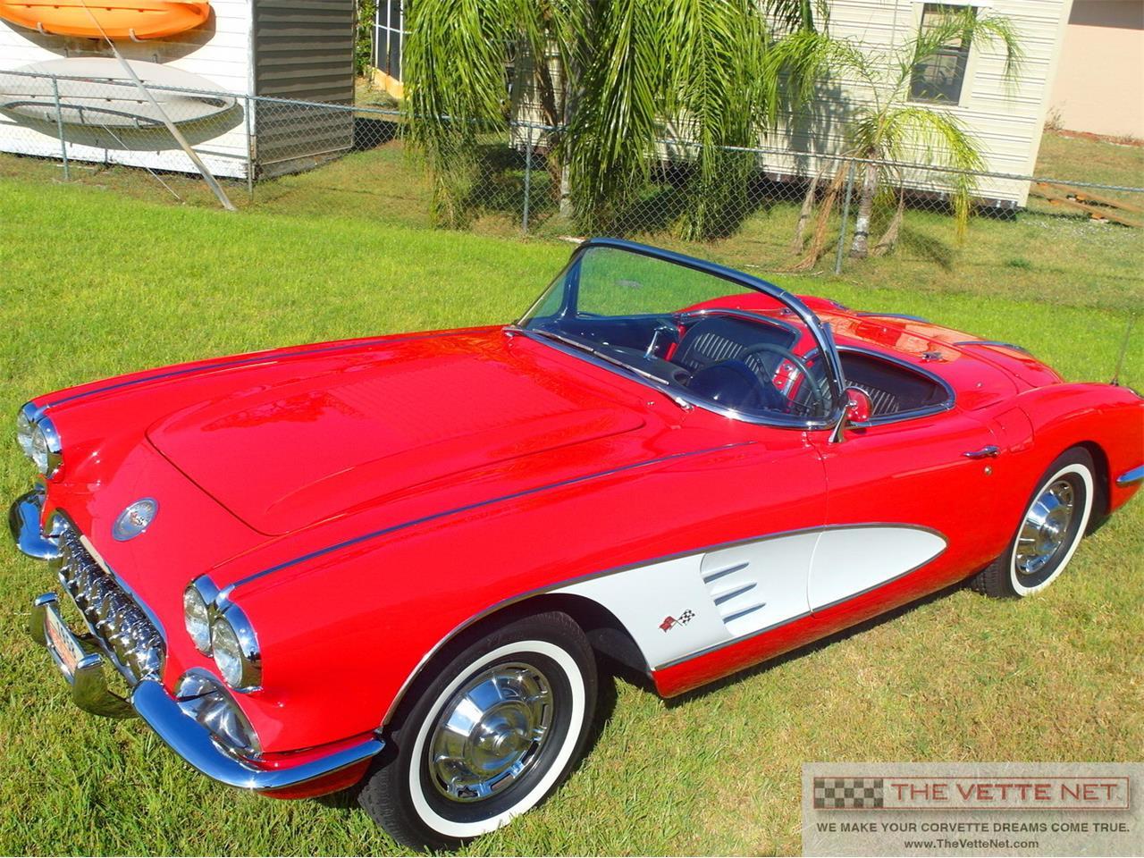 1958 chevrolet corvette for sale cc 934621. Black Bedroom Furniture Sets. Home Design Ideas