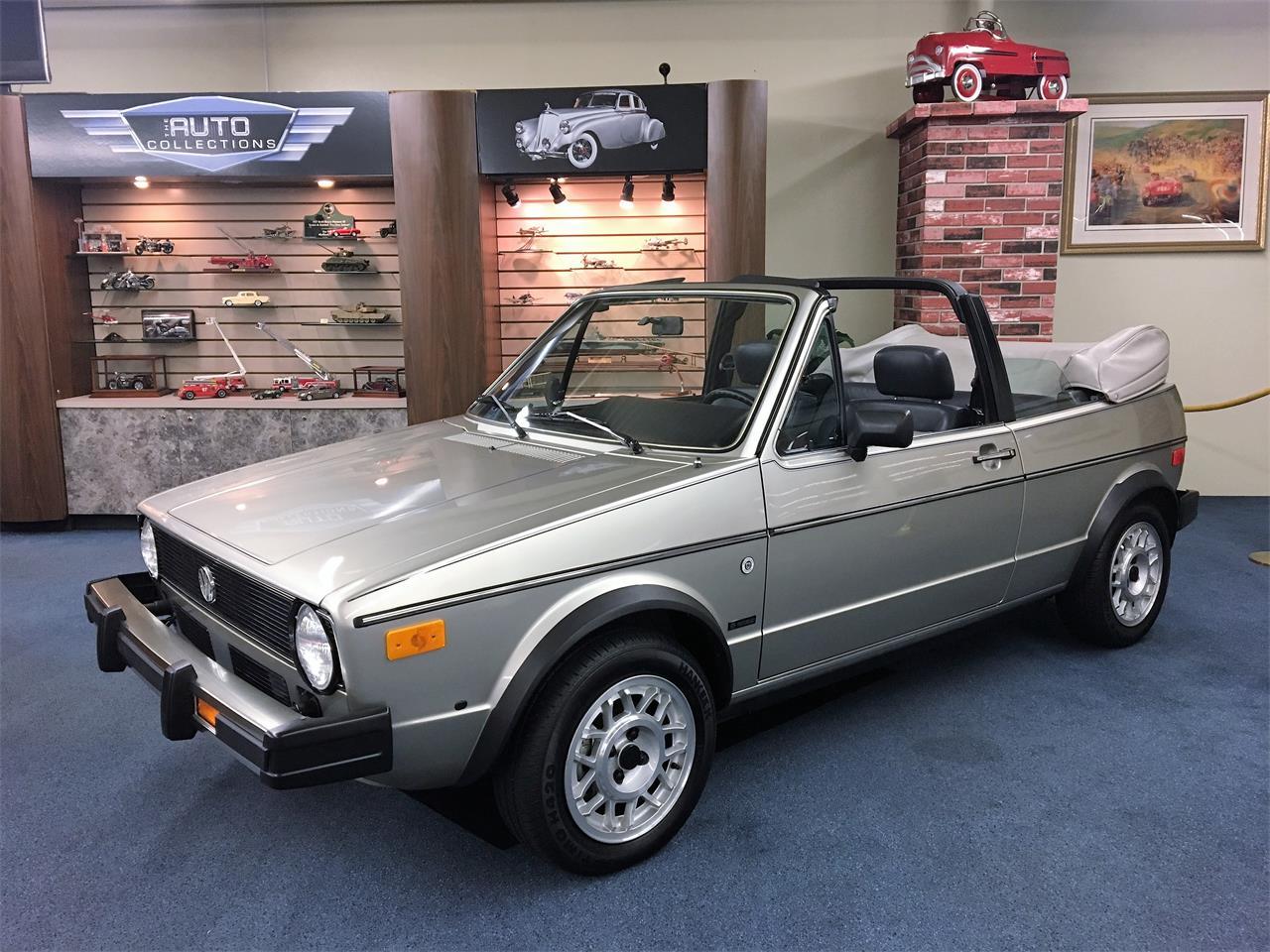 1985 Volkswagen Cabriolet For Sale Classiccars Com Cc
