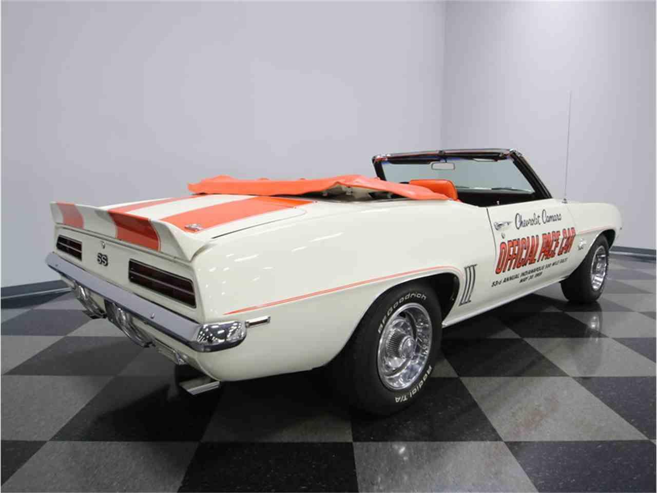 1969 Chevrolet Camaro Rs Ss Pace Car For Sale Classiccars Com Cc 930579