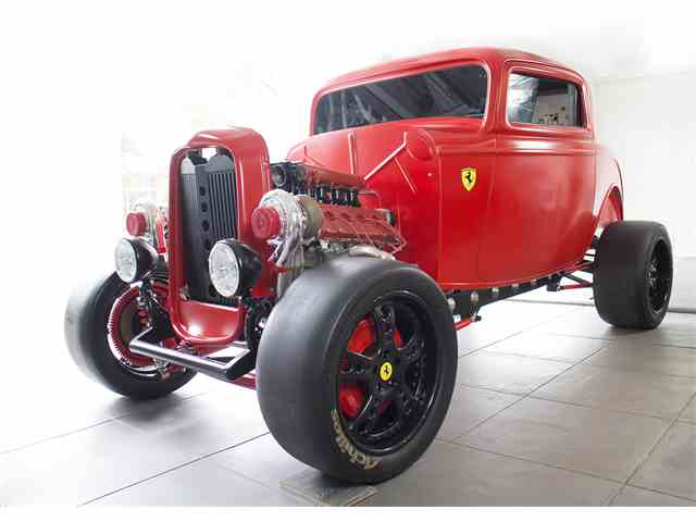 Picture of Classic '32 Ford Custom with Ferrari Turbo Engine Offered by MP Classics World - K255