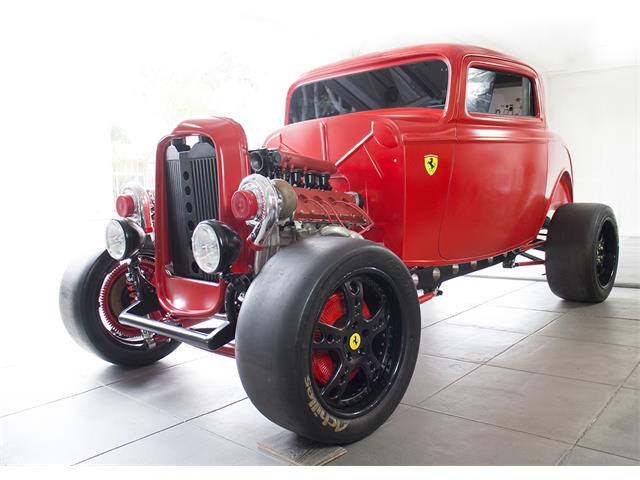 1932 Ford Custom with Ferrari Turbo Engine