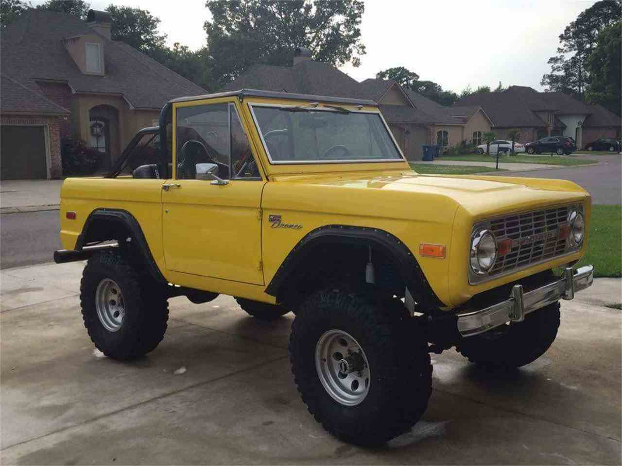 1972 ford bronco for sale cc 935914. Black Bedroom Furniture Sets. Home Design Ideas