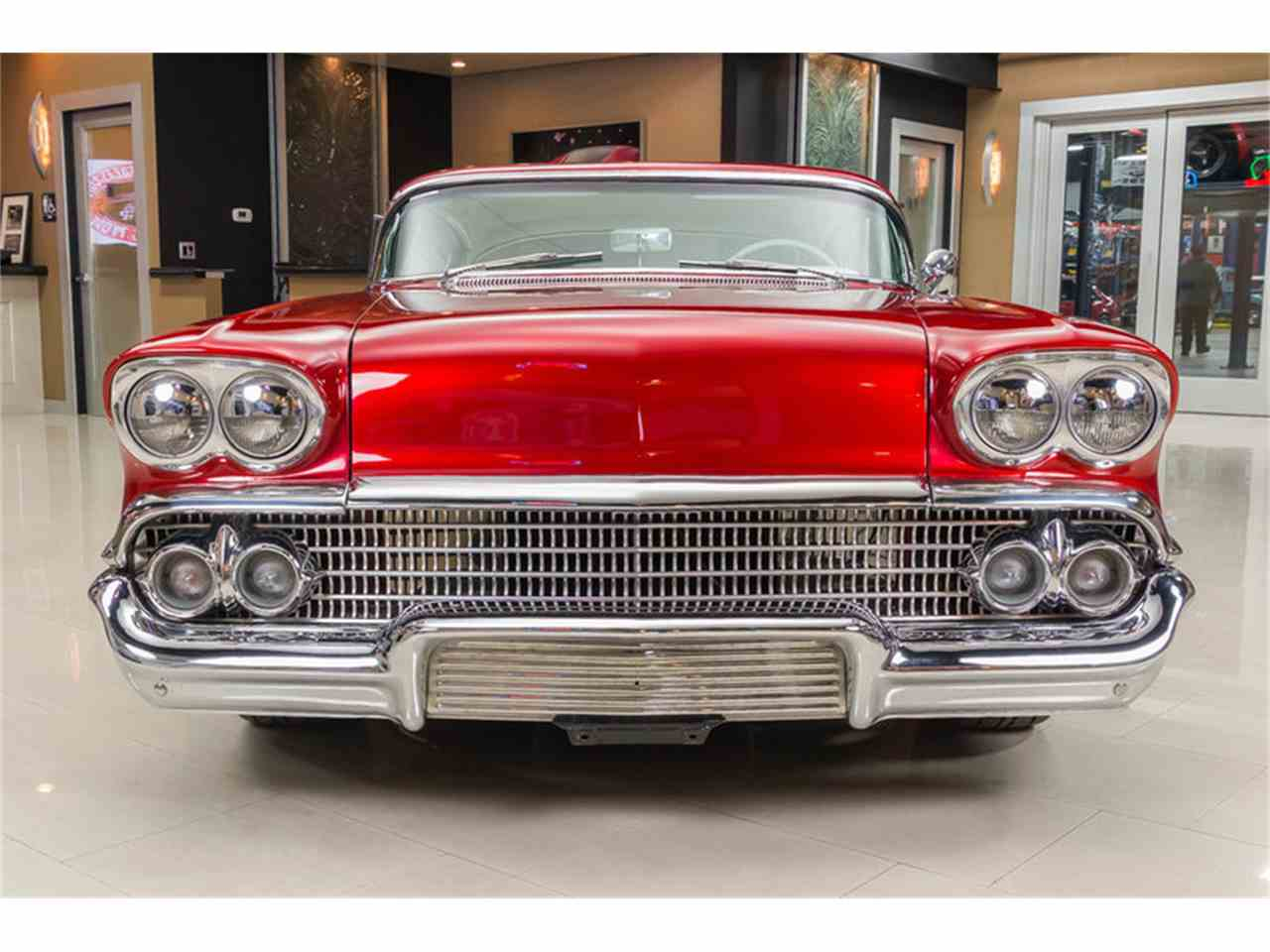 Large Picture of '58 Chevrolet Impala located in Plymouth Michigan Offered by Vanguard Motor Sales - K273