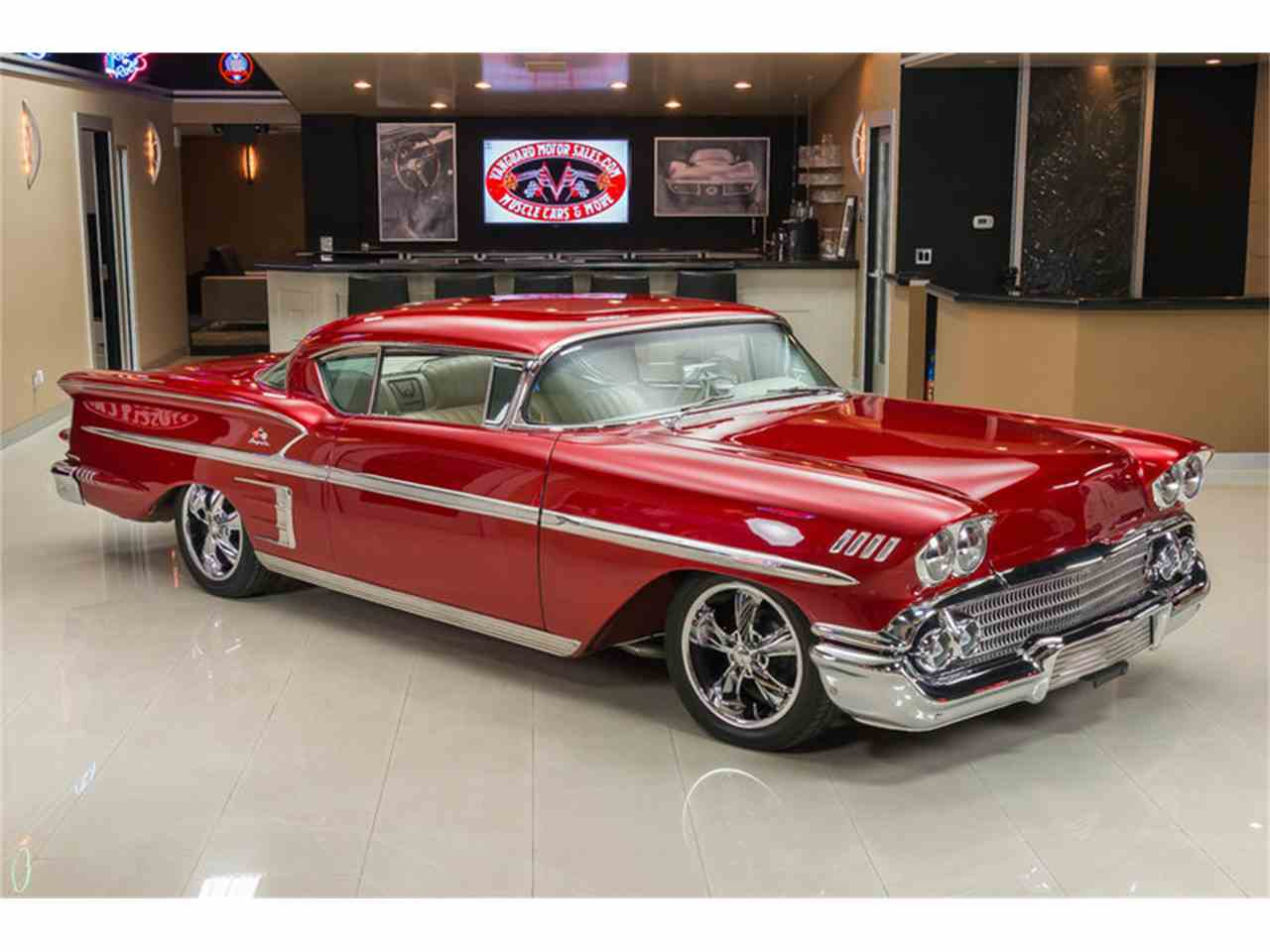 Large Picture of '58 Impala located in Michigan - $64,900.00 Offered by Vanguard Motor Sales - K273