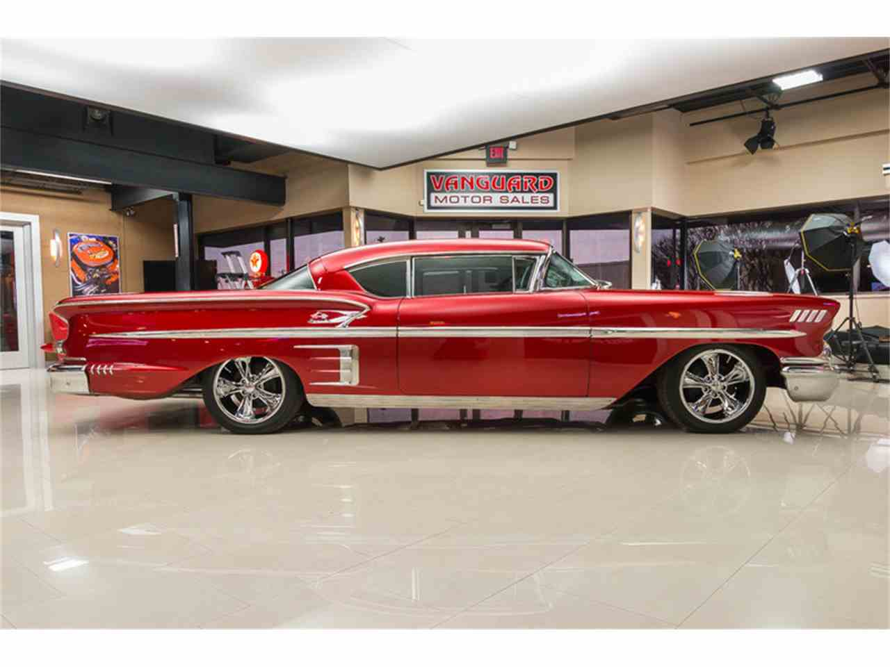 Large Picture of Classic '58 Impala located in Michigan - $64,900.00 Offered by Vanguard Motor Sales - K273