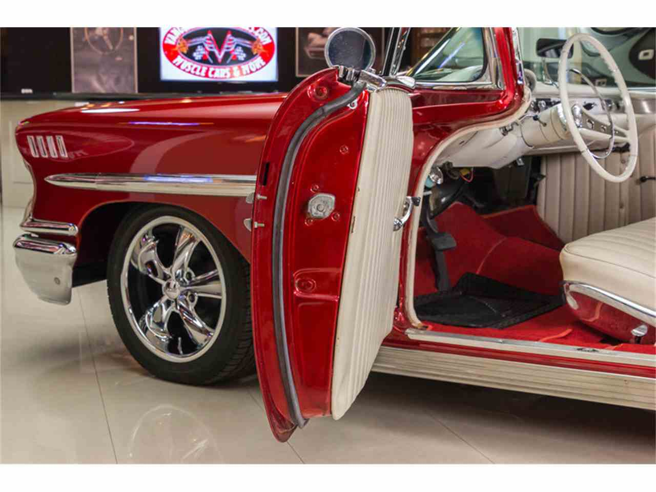 Large Picture of Classic 1958 Chevrolet Impala located in Plymouth Michigan Offered by Vanguard Motor Sales - K273