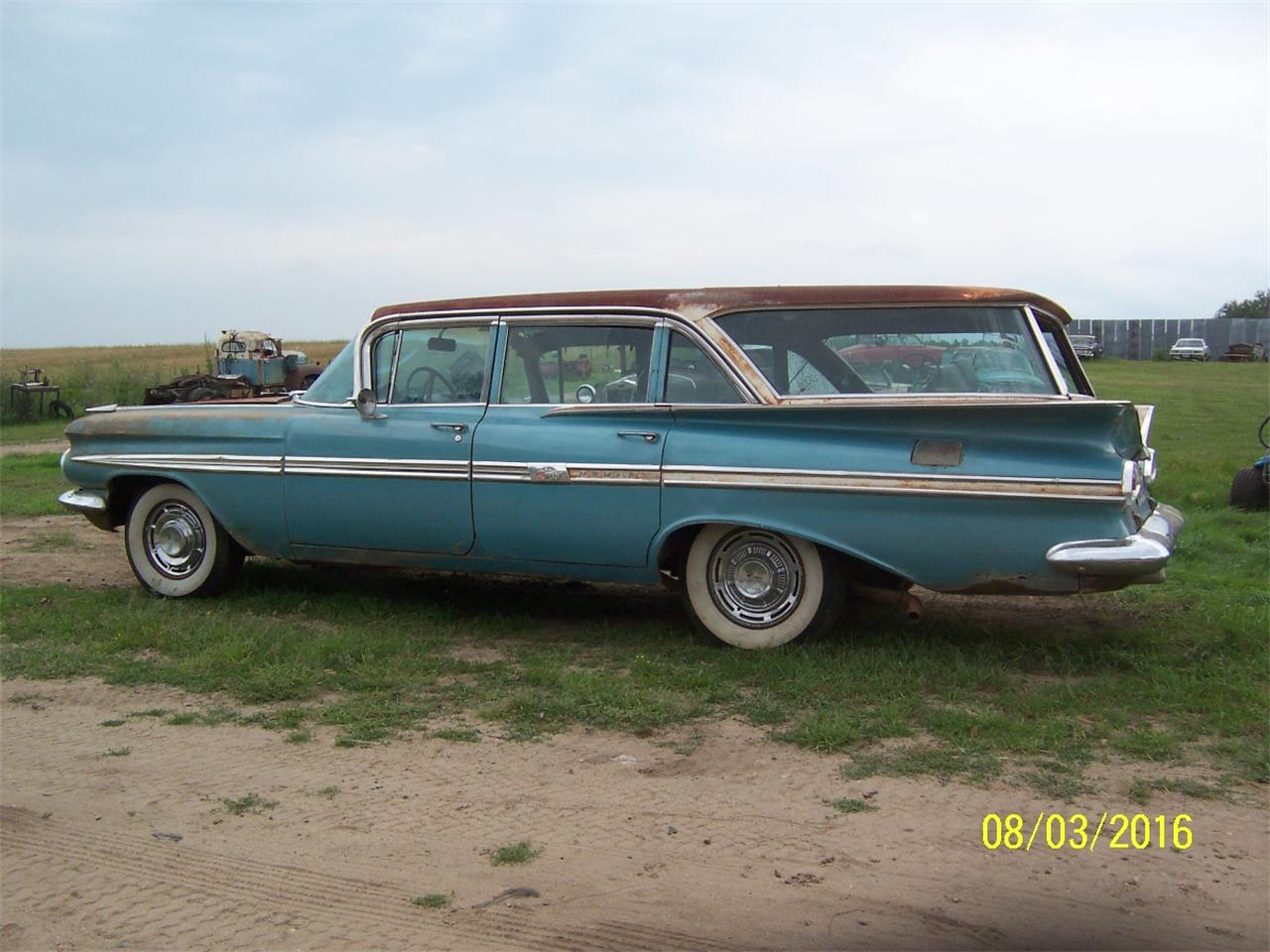 1959 Chevrolet Nomad For Sale Classiccars Com Cc 936447