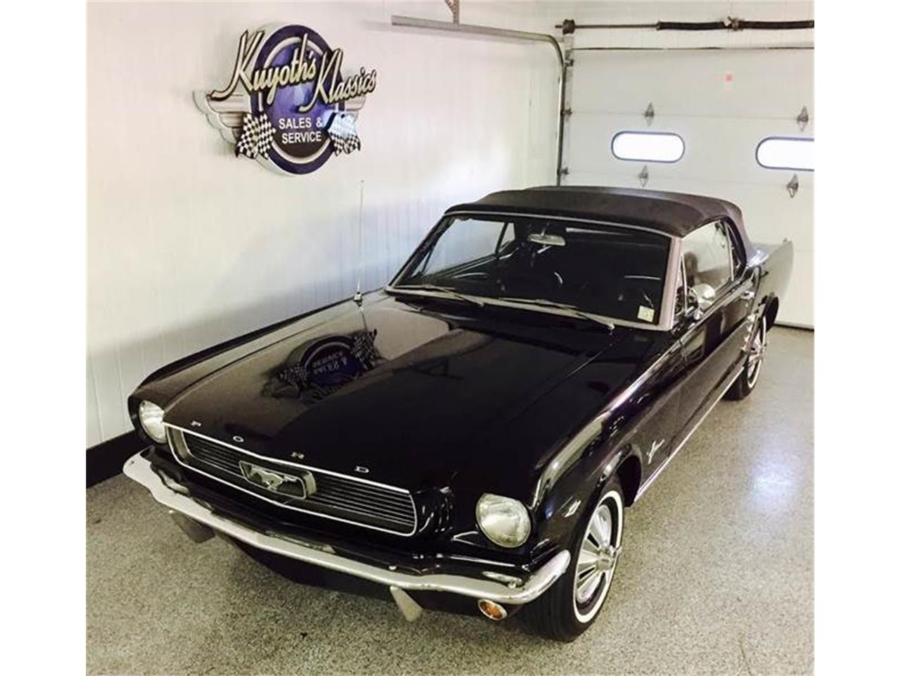 Large Picture of Classic '66 Mustang located in Wisconsin Offered by Kuyoth's Klassics - JY3M