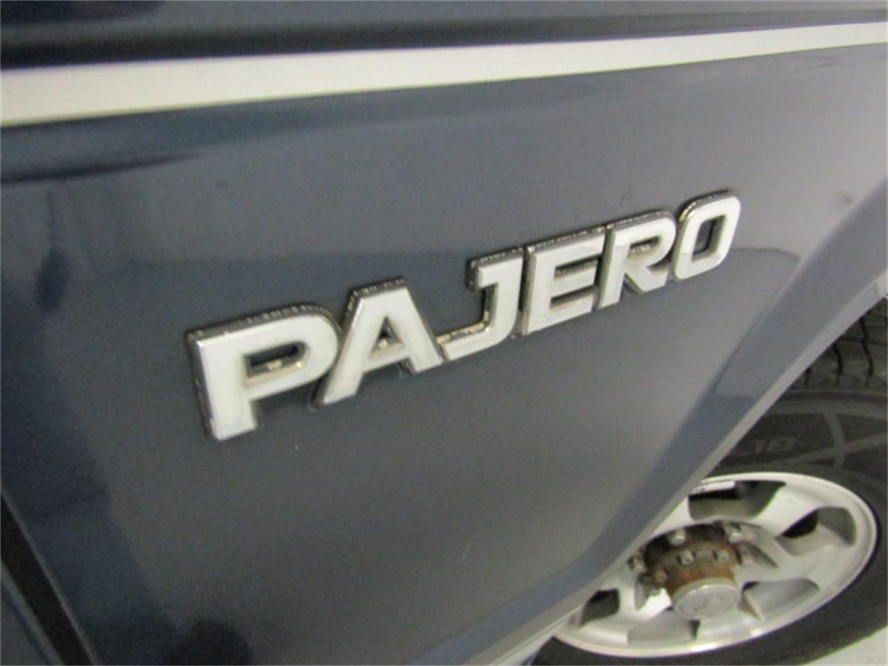 Large Picture of '87 Pajero - K2Q9