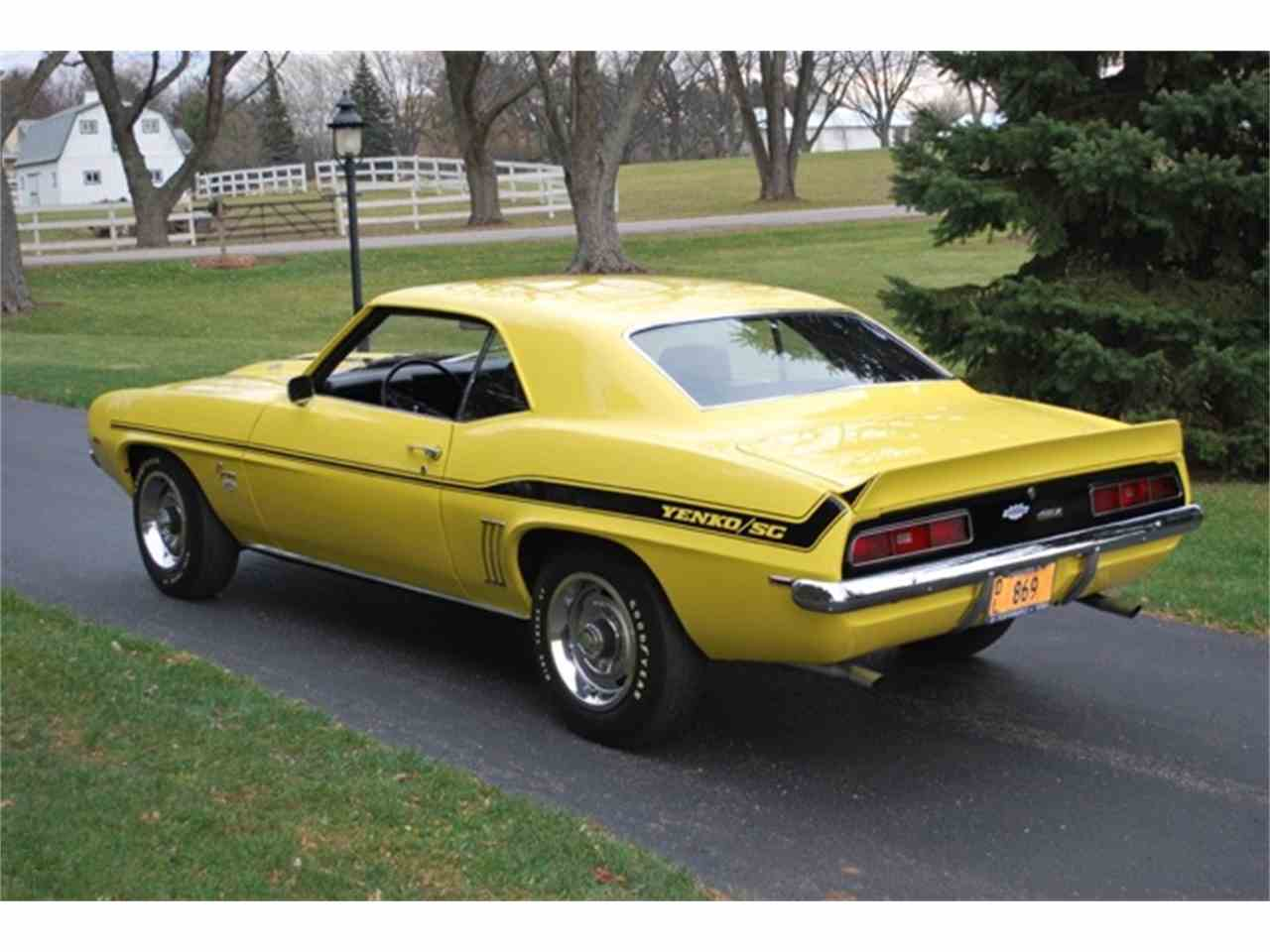 1969 Chevrolet Camaro Copo Yenko For Sale Classiccars